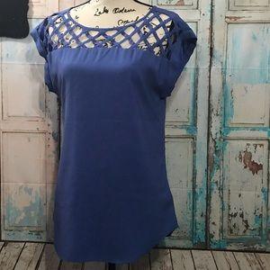 Express Blue Short Sleeve